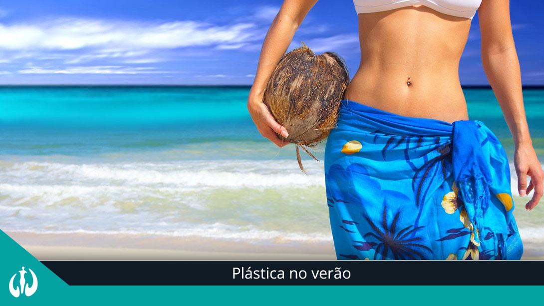 Plástica no verão
